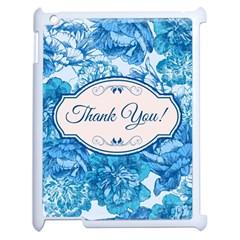 Thank You Apple Ipad 2 Case (white) by BangZart