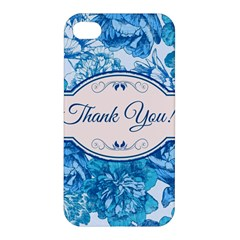 Thank You Apple Iphone 4/4s Hardshell Case by BangZart