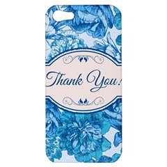 Thank You Apple Iphone 5 Hardshell Case by BangZart
