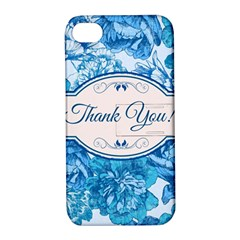 Thank You Apple Iphone 4/4s Hardshell Case With Stand by BangZart