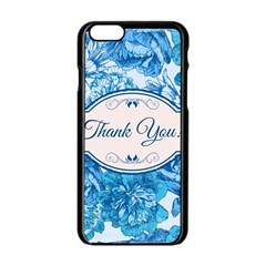 Thank You Apple Iphone 6/6s Black Enamel Case by BangZart