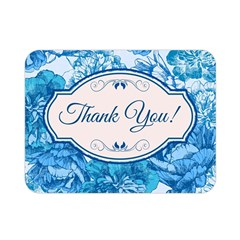 Thank You Double Sided Flano Blanket (mini)  by BangZart