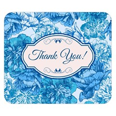 Thank You Double Sided Flano Blanket (small)  by BangZart