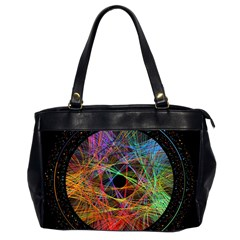 The Art Links Pi Office Handbags (2 Sides)  by BangZart
