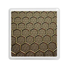 Texture Hexagon Pattern Memory Card Reader (square)  by BangZart