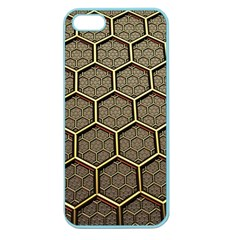 Texture Hexagon Pattern Apple Seamless Iphone 5 Case (color) by BangZart