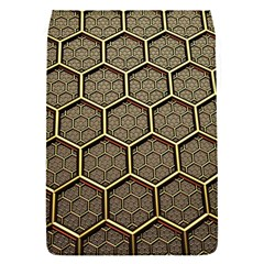 Texture Hexagon Pattern Flap Covers (s)  by BangZart