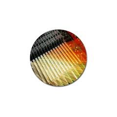 Technology Circuit Golf Ball Marker (10 Pack) by BangZart