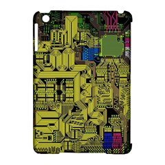 Technology Circuit Board Apple Ipad Mini Hardshell Case (compatible With Smart Cover) by BangZart