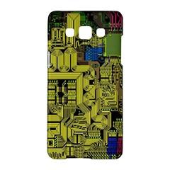 Technology Circuit Board Samsung Galaxy A5 Hardshell Case  by BangZart