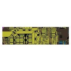 Technology Circuit Board Satin Scarf (oblong) by BangZart
