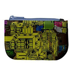 Technology Circuit Board Large Coin Purse by BangZart