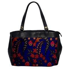 Texture Batik Fabric Office Handbags by BangZart