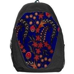 Texture Batik Fabric Backpack Bag by BangZart