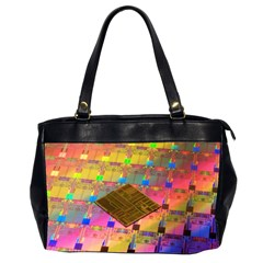Technology Circuit Pentium Die Office Handbags (2 Sides)  by BangZart