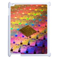 Technology Circuit Pentium Die Apple Ipad 2 Case (white) by BangZart