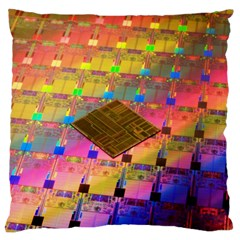 Technology Circuit Pentium Die Large Cushion Case (one Side)