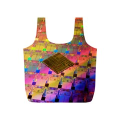 Technology Circuit Pentium Die Full Print Recycle Bags (s)  by BangZart