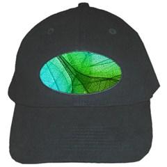 Sunlight Filtering Through Transparent Leaves Green Blue Black Cap by BangZart