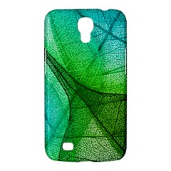 Sunlight Filtering Through Transparent Leaves Green Blue Samsung Galaxy Mega 6 3  I9200 Hardshell Case by BangZart
