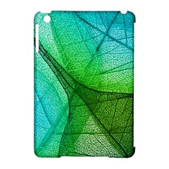 Sunlight Filtering Through Transparent Leaves Green Blue Apple Ipad Mini Hardshell Case (compatible With Smart Cover) by BangZart