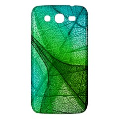 Sunlight Filtering Through Transparent Leaves Green Blue Samsung Galaxy Mega 5 8 I9152 Hardshell Case  by BangZart