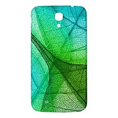 Sunlight Filtering Through Transparent Leaves Green Blue Samsung Galaxy Mega I9200 Hardshell Back Case by BangZart