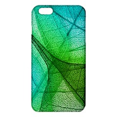 Sunlight Filtering Through Transparent Leaves Green Blue Iphone 6 Plus/6s Plus Tpu Case by BangZart