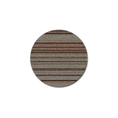 Stripy Knitted Wool Fabric Texture Golf Ball Marker (10 Pack) by BangZart