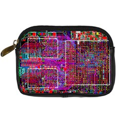 Technology Circuit Board Layout Pattern Digital Camera Cases by BangZart