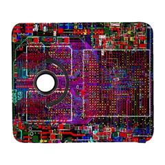 Technology Circuit Board Layout Pattern Galaxy S3 (flip/folio) by BangZart