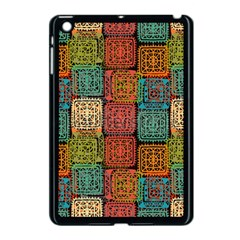 Stract Decorative Ethnic Seamless Pattern Aztec Ornament Tribal Art Lace Folk Geometric Background C Apple Ipad Mini Case (black) by BangZart