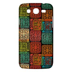 Stract Decorative Ethnic Seamless Pattern Aztec Ornament Tribal Art Lace Folk Geometric Background C Samsung Galaxy Mega 5 8 I9152 Hardshell Case  by BangZart