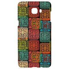 Stract Decorative Ethnic Seamless Pattern Aztec Ornament Tribal Art Lace Folk Geometric Background C Samsung C9 Pro Hardshell Case  by BangZart