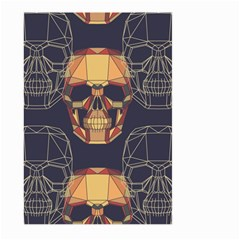 Skull Pattern Large Garden Flag (two Sides) by BangZart