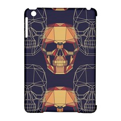 Skull Pattern Apple Ipad Mini Hardshell Case (compatible With Smart Cover) by BangZart