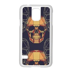 Skull Pattern Samsung Galaxy S5 Case (white) by BangZart