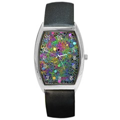 Starbursts Biploar Spring Colors Nature Barrel Style Metal Watch by BangZart