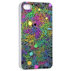 Starbursts Biploar Spring Colors Nature Apple Iphone 4/4s Seamless Case (white) by BangZart