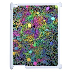 Starbursts Biploar Spring Colors Nature Apple Ipad 2 Case (white) by BangZart