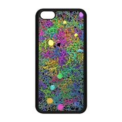 Starbursts Biploar Spring Colors Nature Apple Iphone 5c Seamless Case (black) by BangZart