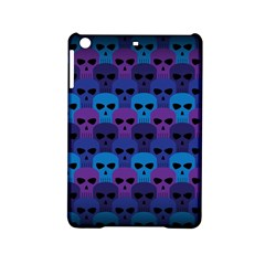 Skull Pattern Wallpaper Ipad Mini 2 Hardshell Cases by BangZart
