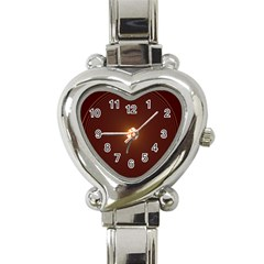 Spiral Vintage Heart Italian Charm Watch by BangZart