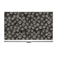 Skull Halloween Background Texture Business Card Holders by BangZart