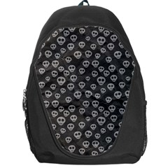 Skull Halloween Background Texture Backpack Bag by BangZart