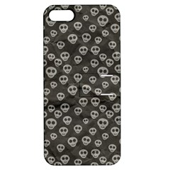 Skull Halloween Background Texture Apple Iphone 5 Hardshell Case With Stand by BangZart