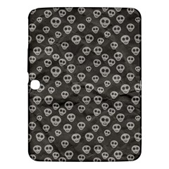 Skull Halloween Background Texture Samsung Galaxy Tab 3 (10 1 ) P5200 Hardshell Case  by BangZart