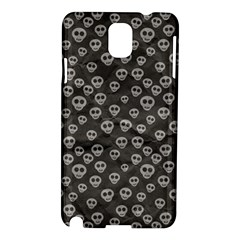 Skull Halloween Background Texture Samsung Galaxy Note 3 N9005 Hardshell Case by BangZart