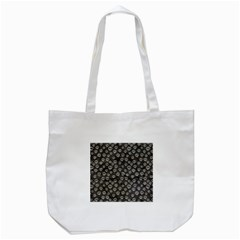 Skull Halloween Background Texture Tote Bag (white) by BangZart