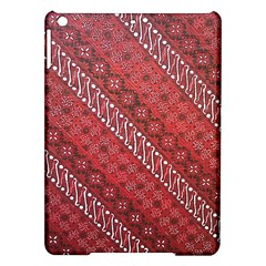 Red Batik Background Vector Ipad Air Hardshell Cases by BangZart